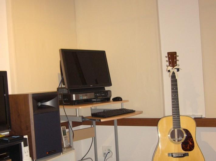 Tさんのプライベートスタジオ