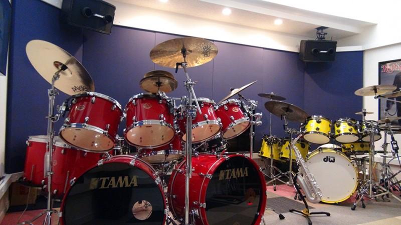 バンドで演奏できるスタジオ
