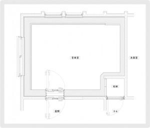 SK邸平面図